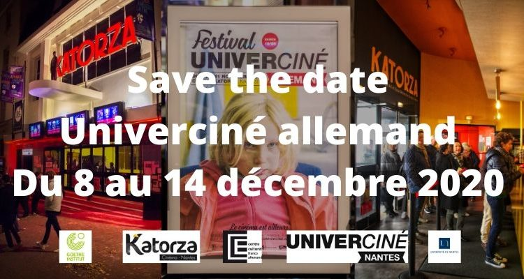 Save the Date Univerciné allemand 2020